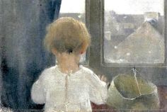 Helene Schjerfbeck The Neck of a Little Girl Much like the unmarried Mary Cassatt, single Finnish artist Helene Schjerfbeck. Helene Schjerfbeck, Abstract Images, Claude Monet, Vincent Van Gogh, Art Pictures, Art For Kids, Little Girls, Illustration Art, Fine Art