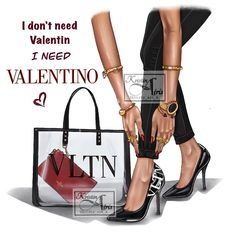 Girly M, Fashion Clipart, Cartoon Profile Pictures, Sales Image, Personalized Notebook, Fashion Design Drawings, Valentino Shoes, Girly Things, Girly Stuff