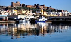 another photo of the Alcazaba and the port - photo by Jorge Jimenez Rapallo   https://www.facebook.com/profile.php?id=100001344185674