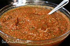 I eat a lot of salsa. A LOT. I am rather notorious for this, in fact. My friend's boyfriend once innocently asked if I had anything he could snack on -- maybe some chips and salsa? My friend nearly...