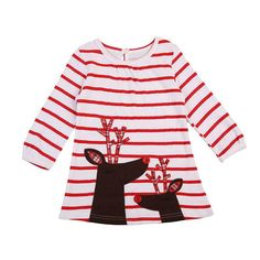 Littler Girls Christmas Outfits Deer Elk Ruffles Sleeve Mesh Shirt /& Check Pants Color : Red+White, Size : 6-7T