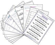 1 cm Metric Graph Paper (Black) Free Printable for Area