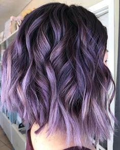 Bebop brittney hair stylist dye my hair, new hair, coloured hair, summer hairstyles Lavender Hair, Lilac Hair, Hair Color Purple, Hair Dye Colors, Cool Hair Color, Ombre Hair, Crazy Hair Colour, Purple Brown Hair, Short Purple Hair