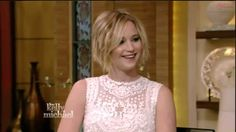 Jennifer Lawrence Interview - X-Men: Days of Future Past - Live with Kelly and Michael