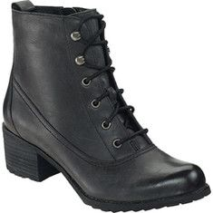 Introduce yourself to the Aetrex Skyler Ankle Lace Up Boot. Cool shoes created by Aetrex in Black Leather. Feel fashionable in these shoes created by the designer Aetrex. Black Leather Boots, Black Ankle Boots, Ankle Booties, Leather Shoes, Women's Lace Up Boots, Lace Up Heels, Trendy Shoes, Western Boots, Shoe Boots