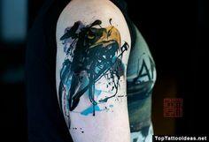 eagle beak abstract