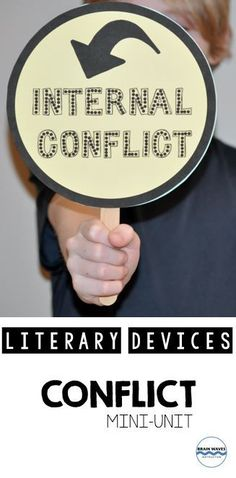 Conflict Mini-Unit: 3 fun lessons to help students understand central conflict Conflict In Literature, Types Of Conflict, Ap Language, 6th Grade Ela, Teaching Materials, Teaching Ideas, Thing 1, Group Work, Writing Workshop