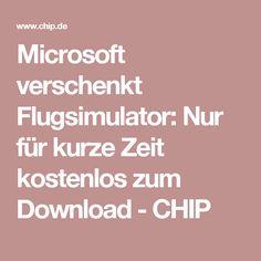 Microsoft verschenkt Flugsimulator: Nur für kurze Zeit kostenlos zum Download - CHIP