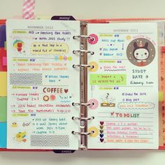 HOP.SKIP.JUMP. A really beautiful clean Filofax blog! I suggest you click and follow!! ^_^