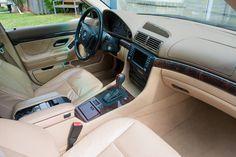 E38 Chrome Line Interior (Sand Beige & Nutwood) #BMW #cars #M3 #car #M4 #auto