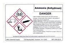 OSHA HazCom updates will require employers to provide new, GHS-compliant chemical hazard labels. Learn the details of these label requirements. Hazard Communication, Eye Damage, Skin Burns, Label Templates, Proposal Templates, Under Pressure, You Look Like, Medical Advice