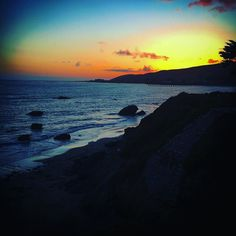 Check out our Surf clothing here! http://ift.tt/1T8lUJC #California #Coast #RoadTrip  #Cheers from #MorroBay 5/25/16 #PacificCoast #Sunset