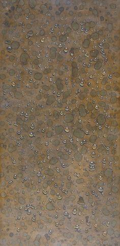 Thunderstruck (Kim Tschang-Yeul (Korean, b. Korean Painting, Water Drops, Conceptual Art, Contemporary Art, Abstract Art, Paintings, Artists, Fine Art, Design