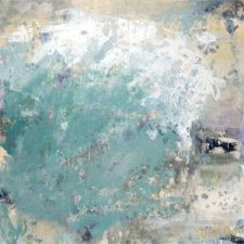 Beautiful piece by Cindy Wingo entitled The Surf