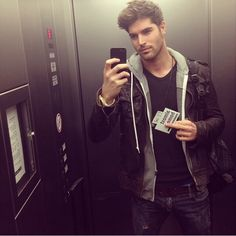 Nick Bateman, he doesn't even have to try to be hot!