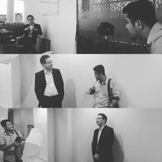 Behind the scene photoshoot with @reginaldhamdani, President Director @jagadiri_id. We had great time. His inspired us to dare have big and many dreams. #womensobsession #magazine #obsessionmediagroup #hes #profile #man #CEO #jagadiri #indonesia #first #ecommerce #insurance #member #salimgroup