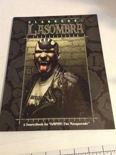 White Wolf: Vampire The MasqueradeClanbook Lasombra  English Fantasy Paperback