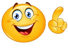 Illustration about Design of an emoticon making a point. Illustration of cute, emoji, emotion - 25977020 Emoticon Feliz, Smiley Emoticon, Emoticon Faces, Smiley Faces, Emoji Amor, Clipart, Funny Sms Messages, Logo Image, Naughty Emoji
