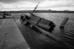 Sarsia in East Float Dock. by David Firth Photo-Graphics, via Flickr