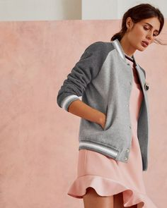 95b77bb73b6e7 Athletic-inspired looks get a plush new-season update thanks to the AUGUSTA  wool