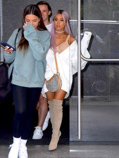 Ariana Grande Legs, Ariana Grande Outfits, Ariana Grande Pictures, Bar Outfits, Cute Outfits, Barack Obama, Celebrity Photos, Celebrity Style, Bae