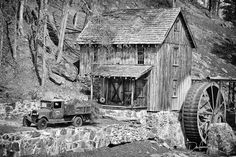 old saw mills | Old Sawmill In The South Photograph - Old Sawmill In The South Fine ...