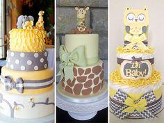 mesas de dulces para baby shower de animalitos - Buscar con Google