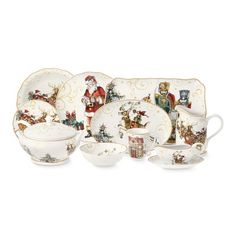 'Twas The Night Before Christmas Dinnerware Collection #williamssonoma