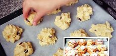 Zdravé jablečné sušenky bez mouky a cukru jsou za 10 minut hotové – magnilo Biscotti, Baked Goods, Ham, Cauliflower, Cake Recipes, Muffin, Food And Drink, Low Carb, Sweets
