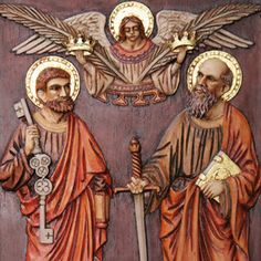 Why do we celebrate the Solemnity of Saints Peter and Paul on the same day? - Busted Halo