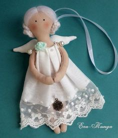 1 million+ Stunning Free Images to Use Anywhere Shabby Chic Christmas, Christmas Tea, Christmas Sewing, Christmas Angels, Christmas Ornaments, Tiny Dolls, Soft Dolls, Felt Crafts, Crafts To Make