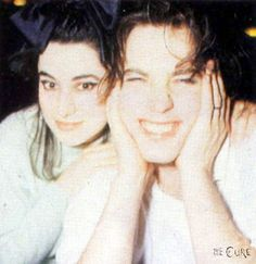 Robert Smith & Mary Poole. One of my favorite love stories of all time, and it's a true one...she is one lucky woman!