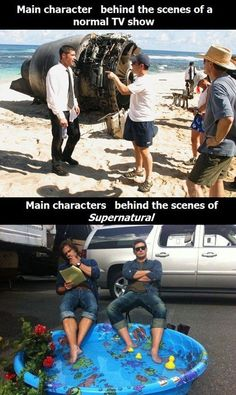 Supernatural, found it on Netflxs.. I really like it a lot, brothers are funny and the shows a bit scary. Little bit like Buffy too and it's AWSOME!