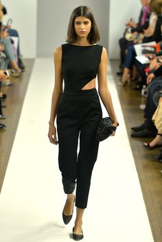 Osman SS14. I'd need to be more fit/thin, but this would be a really interesting 'formal event' look instead of dress! Wow. Love the geometry.