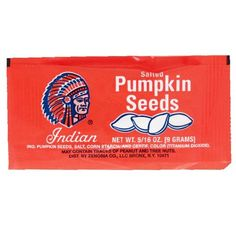 Indian Pumpkin Seeds - 5/16 oz by Indian Brand in 1950's Candy | - Hometown Favorites