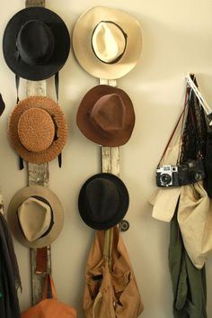 Storage for hats and accessories
