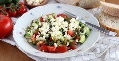 ... ľahký a predsa sýty obľúbený šalát, #Recepty #Do15min. #Šaláty #Bezlepkualaktózy Caprese Salad, Feta, Potato Salad, Potatoes, Ethnic Recipes, Potato