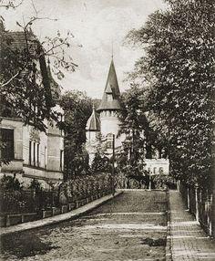 Willa przy ul. Pawłowskiego (Parkweg).