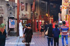 How to Get to Bur Dubai Old Souk/Textile Souk By Dubai Metro Train or Boat Bur Dubai, Travel Guide, Times Square, Boat, Train, Places, Dinghy, Travel Guide Books, Boats