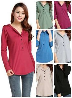 long sleeve hoodie button down top, modest fashion. fall must haves