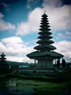 Ulun Danu Temple- Ubud, Bali, Indonesia -- Take in the sights in Indonesia, Travel with us! www.sundeviltravel.com