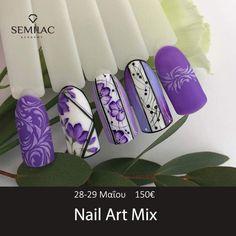 Farbverlauf Nageldesign маникюри с цветя Purple Nail Designs, Diy Nail Designs, Nail Art Modele, Manicure, Nagel Hacks, Nail Patterns, Flower Nail Art, Gel Nail Art, Nail Nail