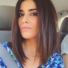 "9,499 Likes, 224 Comments - SAZAN HENDRIX (@sazanhendrix) on Instagram: ""The messy lob.  #hair #selfie #tgif"""