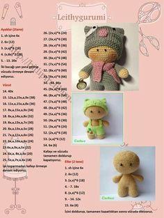 Crochet Doll Toys Free Patterns: Crochet Dolls, Crochet Toys for Girls, Amigurumi Dolls Free Patterns, Crochet Doll Carrier – BuzzTMZ Baby Knitting Patterns, Crochet Dolls Free Patterns, Crochet Doll Pattern, Amigurumi Patterns, Doll Patterns, Cute Crochet, Crochet Crafts, Crochet Toys, Crochet Baby