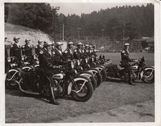 Old LAPD Motor Drill Team