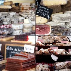 French food market ...