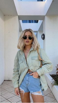 Spring Summer Fashion, Spring Outfits, Simple Summer Outfits, Teen Fashion, Fashion Outfits, Cute Casual Outfits, Bbq Outfit Ideas Casual, Fett, Everyday Outfits