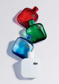 New Lacoste Fragrances for men.