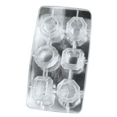 Fred & Friends COOL JEWELS Diamond Ice Tray: Ice Cube Molds: Kitchen & Dining