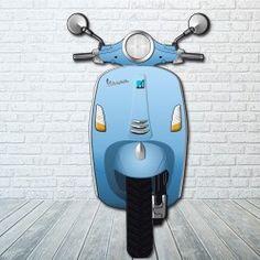 Moto Scooter tipo Vespa para Photocall